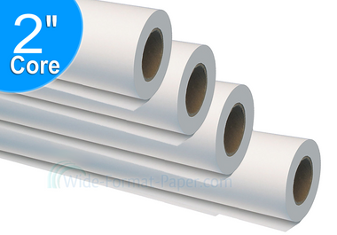 "Large, 42"" Wide Paper Format, Recycled Inkjet Papers, 20lb, 42, Recycle Roll/Bond, 733425U"