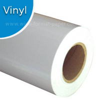 Peaceful image within printable self adhesive vinyl roll