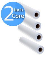 "Product - 24"" x 150' 24lb, Inkjet Coated Bond Papers, Large-Format 4 Roll/Carton (0745225U) 745225U"