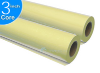 "Large-Format Yellow Xerographic Bond, 20 lb, 24"" x 500' 2 Rolls"