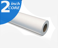 Paper Wide Format Adhesive Vinyl Roll Self 11 mil 42-in x 60-ft Water Resistant Rolls