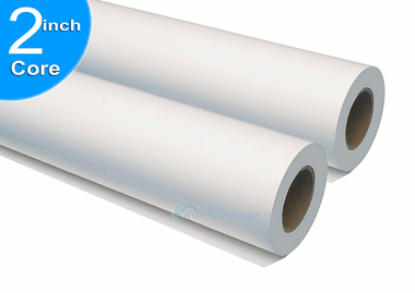 42 inch Wide Printing Bond Inkjet Bond on a Roll, 100 yd 20 Pound Paper