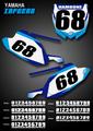 Inferno Number Plates Yamaha