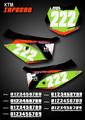 Mini Inferno Number Plates KTM