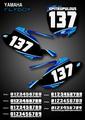 Mini Flyboy Number Plates Yamaha