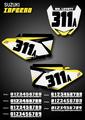 Mini Inferno Number Plates Suzuki