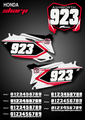 Sharp Number Plates Honda