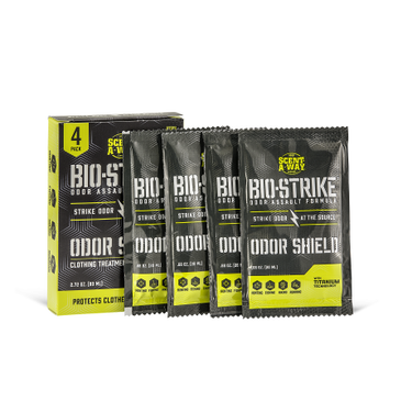 Hunter Specialty 7914 Scent-A-Way Bio-Strike Odor Shield