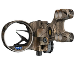 G5 Optix XR2 2 pin Bow Sight, Black, Right Hand, 1 Fixed pin, 1 Hybrid Pin. (.019 pins) - 228