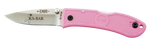 Ka-Bar Mini Dozier Folding Knife, Pink - 4072PK