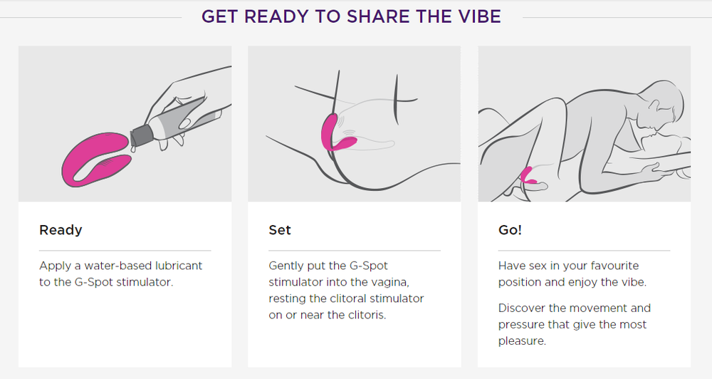 We-Vibe 4 Couples Vibrator (Pink)