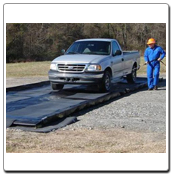 "PREVENT Truck Wash Berms with 4"" Walls"