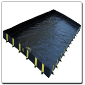 Easy Up Berms for Safeguard Ag Aviation Containment Berm Kit