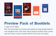 Preview Pack of 41 Topical Series Booklets