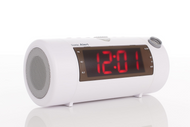 Sonic Blast Projection BT Alarm Clock