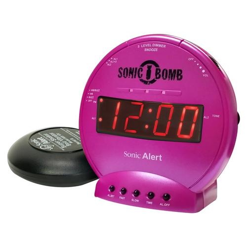 Sonic Bomb SBB500ss Vibrating Alarm Clock