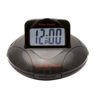 SBP100 Black Vibrating Travel Alarm Clock