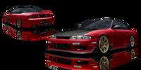 Origin Lab Racing Line Rear Bumper Nissan 240SX S14 Zenki 95-96