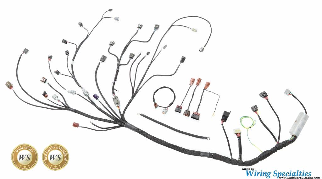 wiring specialties s14 sr20det wiring harness for s14 240sx pro rh 240sxmotoring com