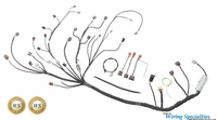 Wiring Specialties - S14 SR20DET Wiring Harness for S14 240sx - PRO SERIES
