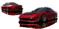 Origin Lab Racing Line Rear Bumper Nissan S13 180SX/240SX 89-94