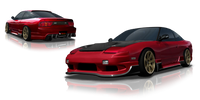 Origin Lab Racing Line FULL KIT Nissan S13 180SX/240SX 89-94