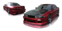 Origin Lab Stylish Side Skirts Nissan Silvia/240sx Coupe 89-94