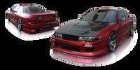 Origin Lab Stylish Rear Bumper Nissan Silvia/240sx Coupe 89-94