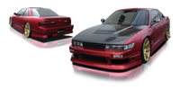 Origin Lab Stream Rear Bumper Nissan Silvia/240sx Coupe 89-94