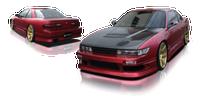 Origin Lab Stream Rear Bumper Nissan Silvia/240sx Coupe 89-94