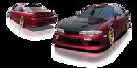 Origin Lab Stream Front Bumper Nissan S14 240SX Zenki 95-96