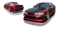 Origin Lab Stream Side Skirt Nissan S14 240SX Zenki 95-96