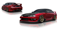 Origin Lab Racing Line Side Skirts 240SX S14 Kouki 97-98