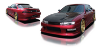 Origin Lab Stream Side Skirts 240SX S14 Kouki 97-98