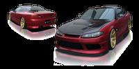 Origin-Lab Stream Front Bumper Nissan Silvia S15