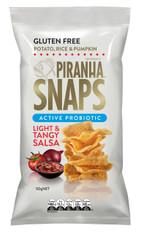 Piranha Snaps Active Probiotic Light & Tangy Salsa GLUTEN FREE