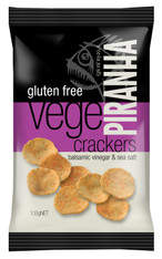 1 x 100g Vege Cracker Flavour: Balsamic Vinegar & Sea Salt