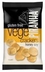 100g x Vege Cracker Honey Soy Gluten Free