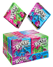 Buster Tangy Candy in a box. 12 x 40g. Gluten Free. Not suitable for children under three years of age.