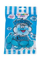Single bag of Blueberry Clouds - Chunky Funkeez. 1 x 170g Gluten Free.