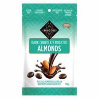 1 x 120g Hugos Dark Chocolate Roasted Almonds
