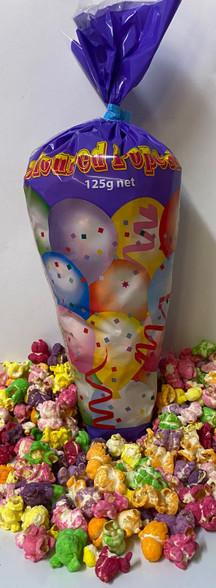 1 x 125g Coloured Popcorn