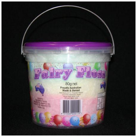 Fairy Floss Bucket 80g - Popcorn People