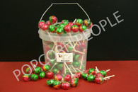Rosey Apple Lolly Pops Individually wrapped (100)