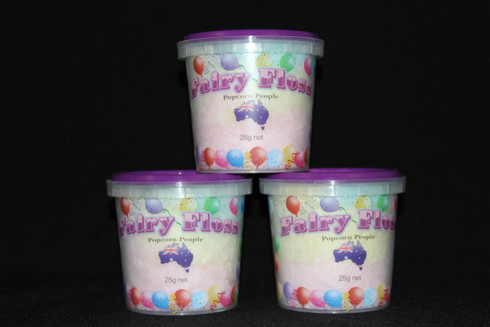 25g Fairy Floss Bucket (Multi Colours) has a 12 month expiry date.
