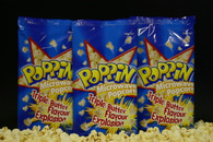 Microwave Popcorn Triple Buttered Poppin 18 x 100g