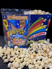 1 x 100g Triple Microwave Popcorn with a Serving Cup.