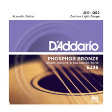 D'Addario Phosphor Bronze Acoustic String set .011-.052