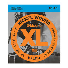 D'Addario Nickel Wound Electric Guitar String Set .010 - .046