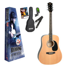 Redding Dreadnaught Acoustic Guitar Pack